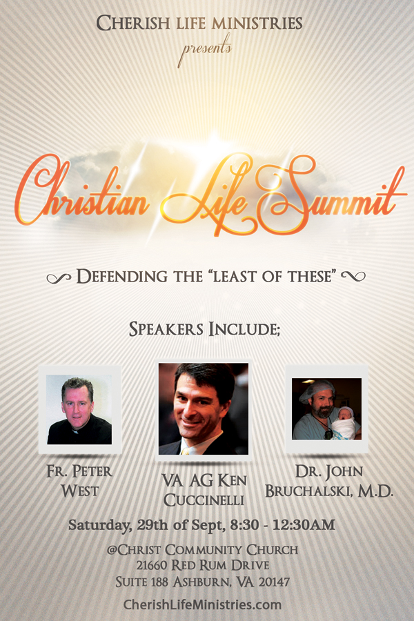 Christian Life Summit Flyer