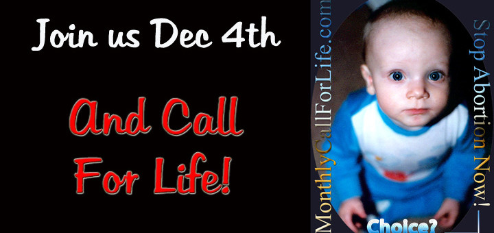Monthly Call for Life